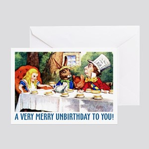 A Very Merry Unbirthday! Greeting Card